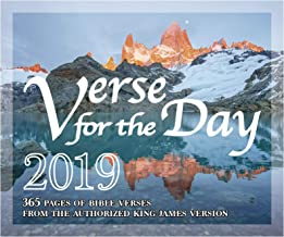 365 Bible Verse for the Day - 2019 Daily Desk Calendar with KJV Scripture