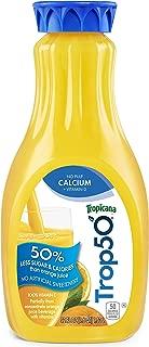Trop50 Orange Juice No Pulp with Calcium and Vitamin D, 52oz