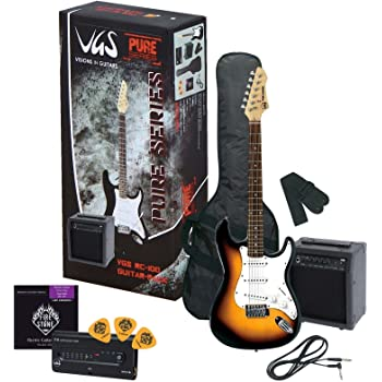 VGS GUITARRA ELECTRICA PURE DE SERIES RC DE 100 GUITAR PACK 0685: Amazon.es: Instrumentos musicales