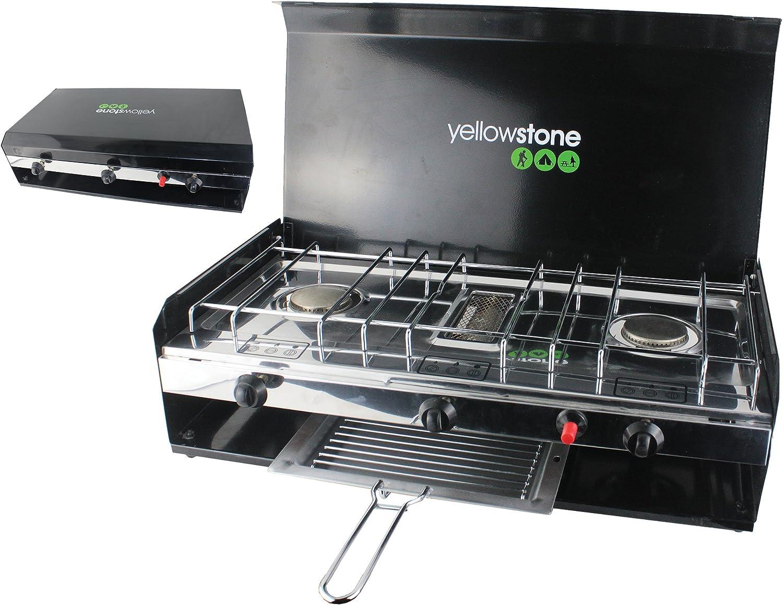Yellowstone GA002 - Hornillo portátil para Acampada, Color ...