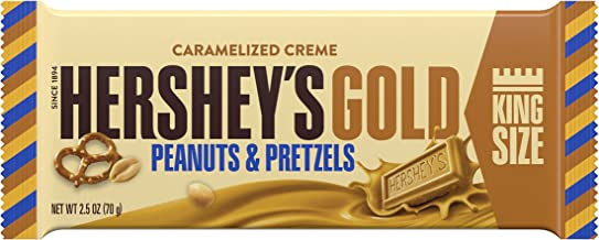 HERSHEY'S GOLD King Size Bar, 2.5 Ounce