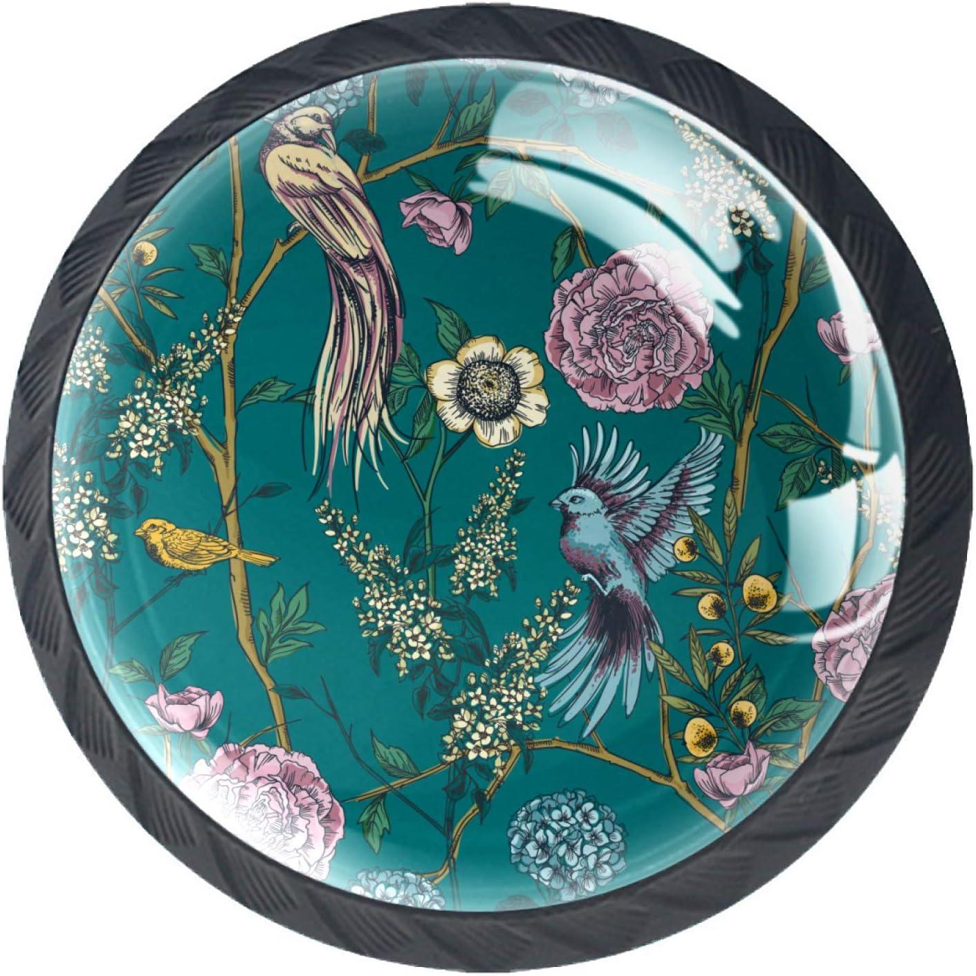 Door Knobs Retro Garde Blossom Handle Pull cheap C Drawer Bargain Lovely