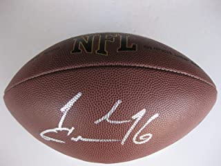 Josh Cribbs Autographed Football - browns kent State proof - Autographed Footballs