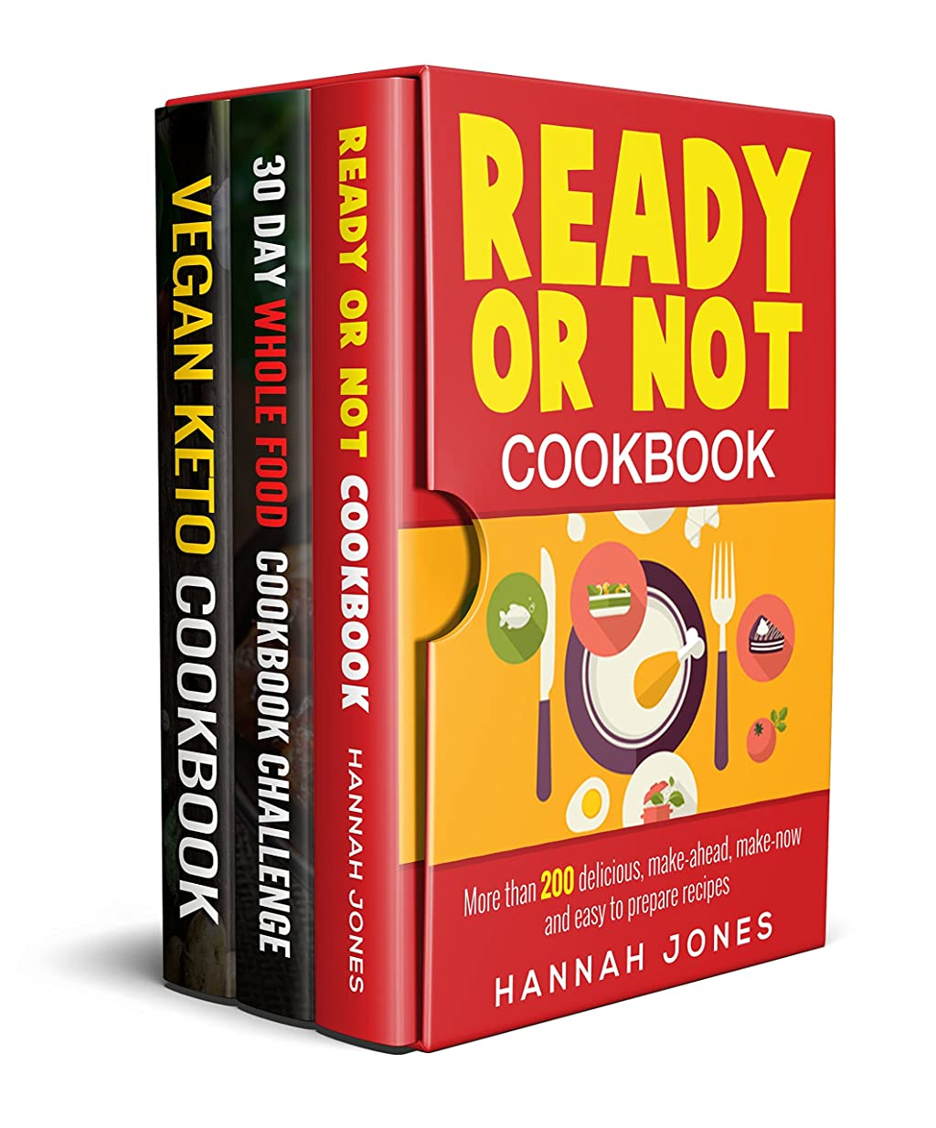 Ready Or Not, 30 Day Challenge, Fat as Fuel: 3 Healthy Cookbooks Super Pack Collection: Over 500 Proven, Delicious & Easy to Make Recipes for Weight Loss & Supercharging Your Health (English Edition)