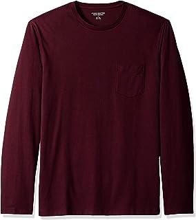 [Amazon Essentials] レギュラーフィット 長袖 ポケット付き Tシャツ メンズ