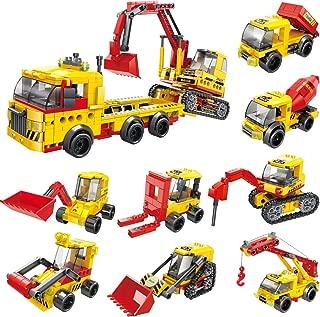 819Pcs Construction Vehicles Building Blocks Set in 25...
