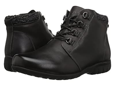 Propet Delaney (Black Leather) Women