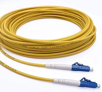 Elfcam Glasfaserkabel Lc Upc Auf Lc Elektronik