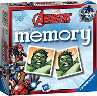 Marvel Avengers Memory Game Ages 3+