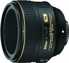 Nikon AF-S FX NIKKOR 58mm f/1.4G Lens for Nikon DSLR Cameras