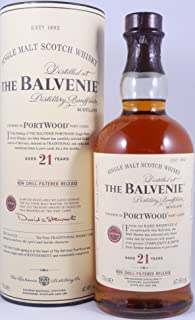 Balvenie 21 Years Port Wood Non-Chill Filtered Limited Release Highland Single Malt Scotch Whisky 47,6% Vol.