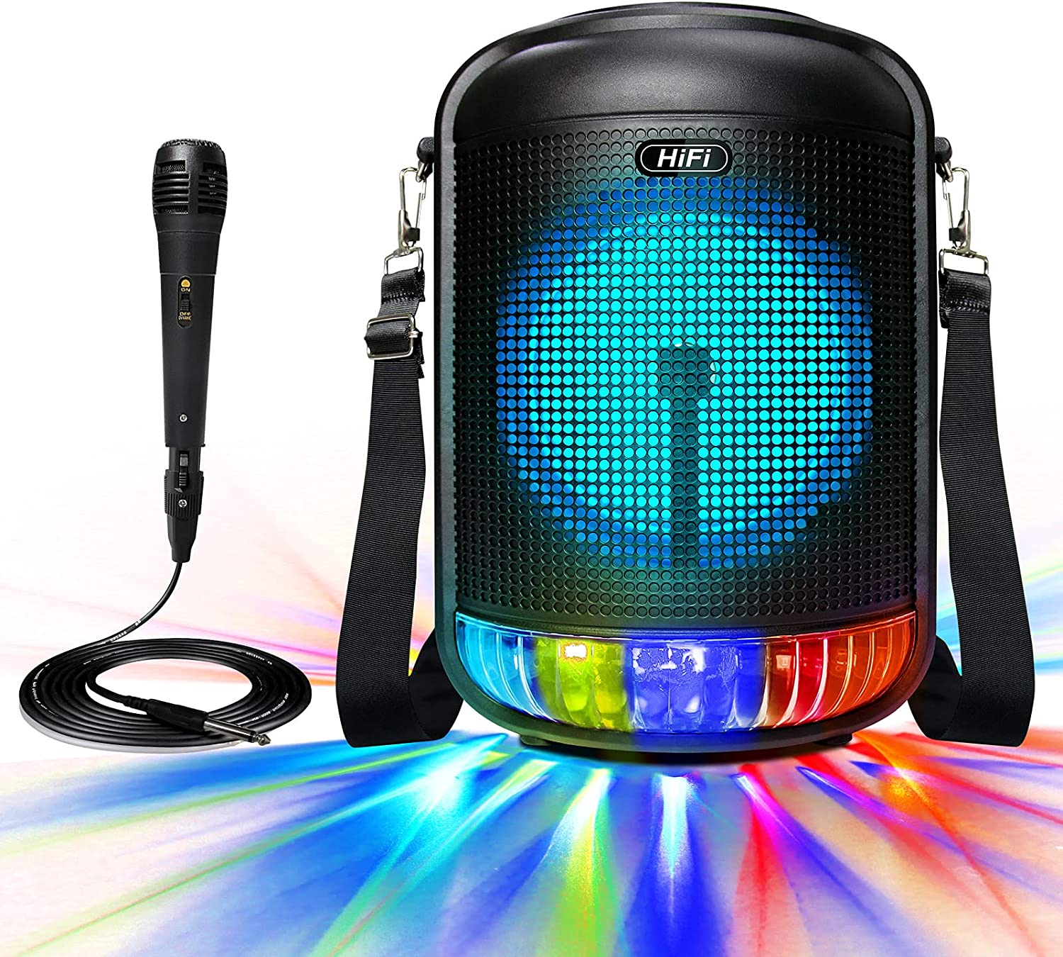 Bluetooth Speaker with Karaoke Machine 2021new shipping free shipping Department store 100W Ka Portable RESLTALY