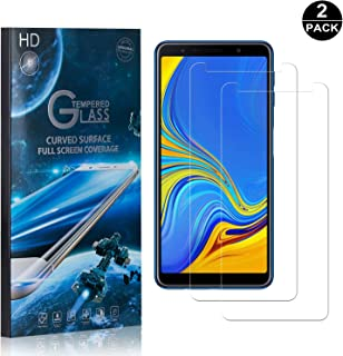 Galaxy A7 2018 Screen Protector Tempered Glass, Bear Village® Perfect Fit & Anti Fingerprint HD Screen Protector Film for Samsung Galaxy A7 2018-2 Pack