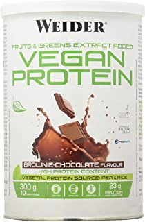 Weider Weider Vegan Protein Chocolate 300Gr 1 Unidad 300 g
