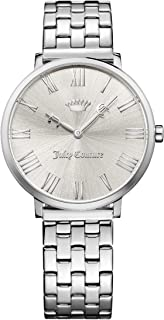 Women's La Ultra Slim 1901632, stainless steel case and link bracelet, Silver and white Roman dial