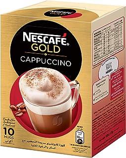 NESCAFE GOLD CAPPUCCINO Instant Foaming Coffee Mix - 17g x 10 Sticks