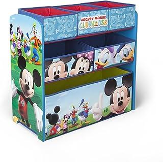 Delta Children TB84847MM caja de juguetes y de almacenamiento - cajas de juguetes y de almacenamiento (Multicolor, Tela, Madera)