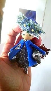 Spilla da bambola pezzo unico