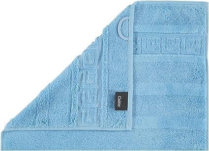 188 Waschhandschuh 16x22 cm Caw/ö Home Handt/ücher Noblesse Uni 1001 Mittelblau