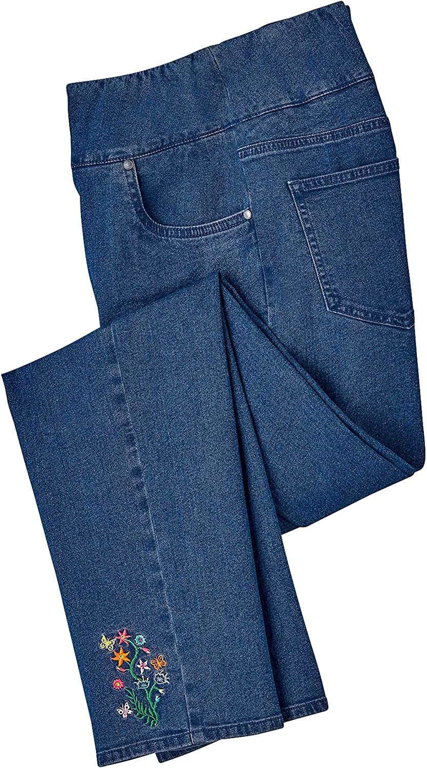 Sale special price AmeriMark Embroidered Jeans trust