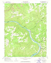 YellowMaps Meadow Creek WV topo map, 1:24000 Scale, 7.5 X 7.5 Minute, Historical, 1969, Updated 1974, 26.9 x 22.1 in