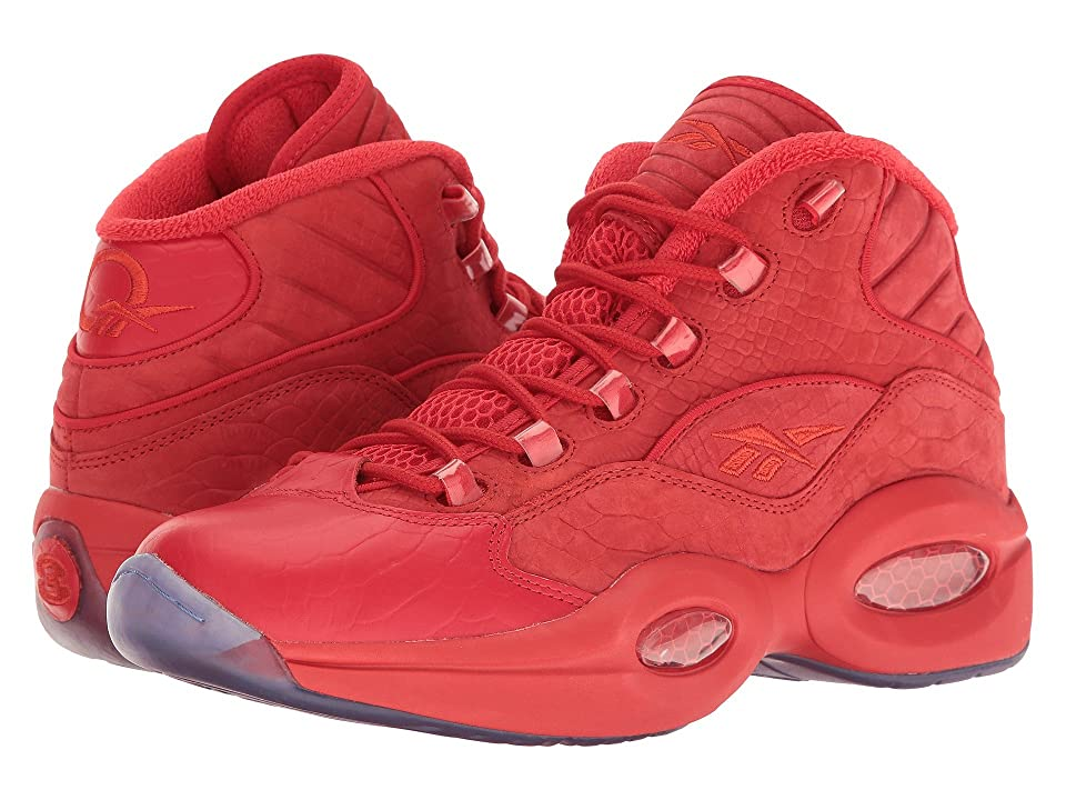 Reebok Lifestyle Question Mid Teyana T (Primal Red/Ice) Women