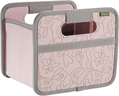 meori Mini Foldable Storage Box, 1-Pack, Rose/Copper Print