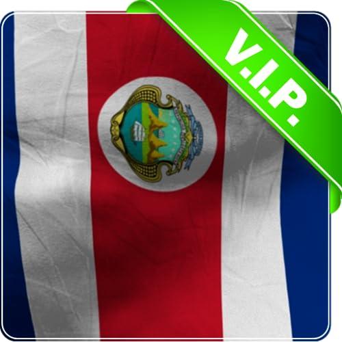 Costa Rica Flagge Lwp