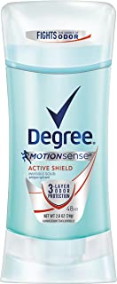 Degree Women Antiperspirant Deodorant Stick, Active Shield 2.6 oz, (Pack of 12)