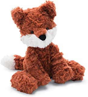 Jellycat Squiggle Fox Stuffed Animal, Small, 9 inches