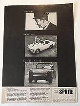 1966 Austin Healey Sprite Magazine Print Advertisement