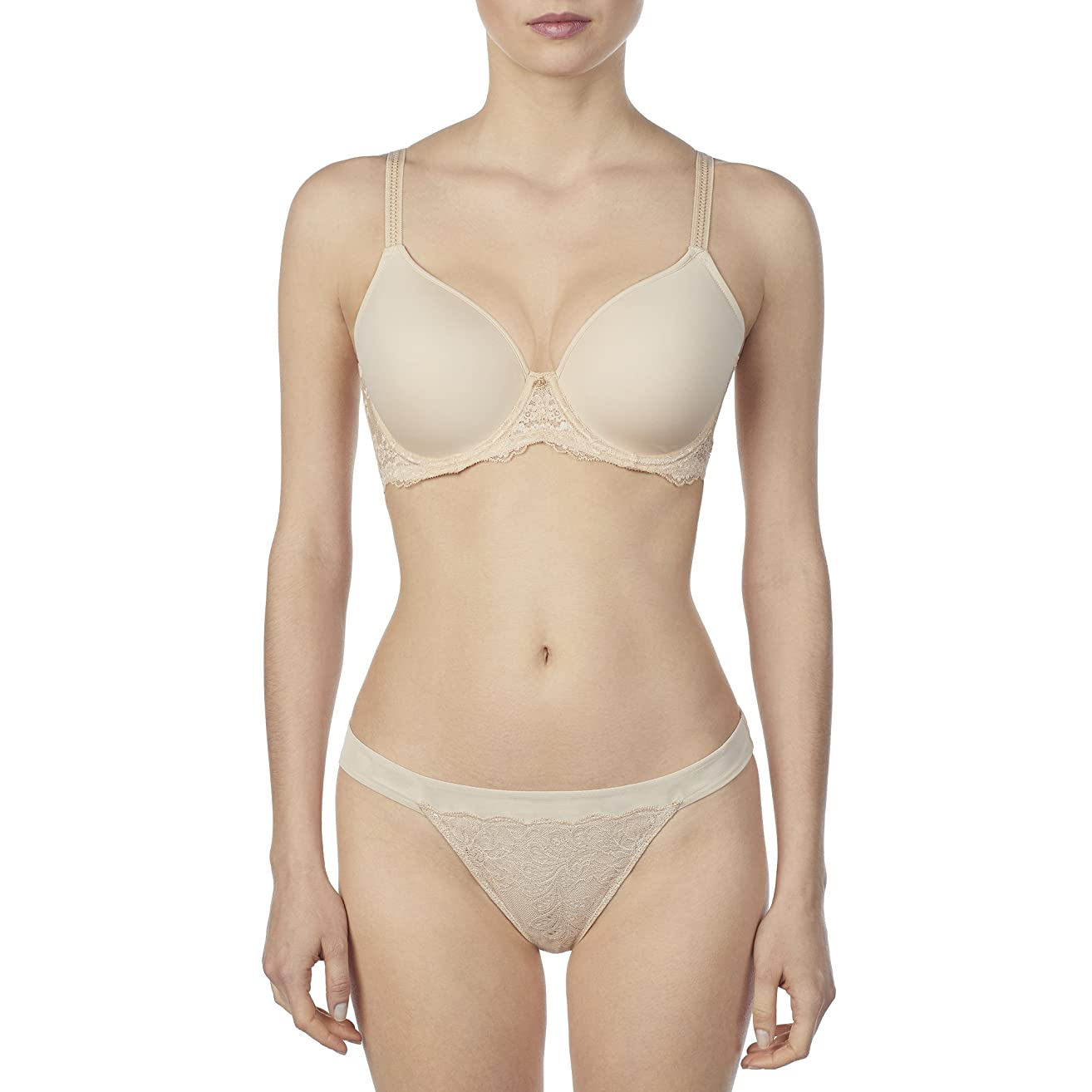 Le Mystere Women's Transformative Tisha T-Shirt Bra, Transformative Lift and Support with Hybrid Memory Foam Cups