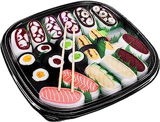 Rainbow Socks, Mujer Hombre Calcetines Sushi Mix de Nigiri y Maki - 10 Pares