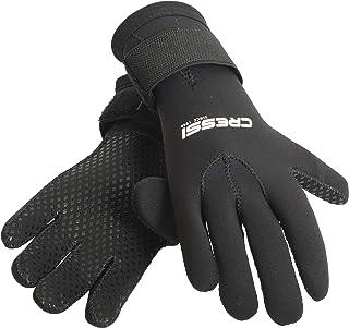 comprar comparacion Cressi Black Gloves Resilient Guantes de Neopreno 3mm para apnea y Buceo, Unisex Adulto