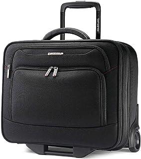 Samsonite Xenon 3 Mobile Office Wheeled Briefcase Laptop Roller Cases, Black, 42 89439-1041