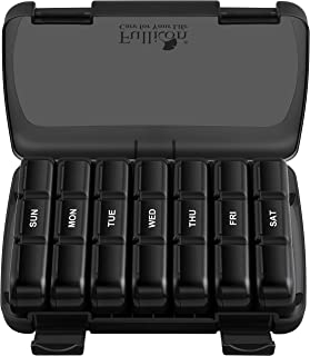 Pill Organizer 3 Times a Day, Fullicon Extra Large Weekly Pill Case 7 Day, XL Daily Pill Box with 21 Compartments, Pill Di...
