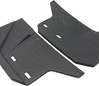 CPOWACE 1 Pair Front Fender Flare Mud Flaps Fit for Polaris Ranger RZR XP 900 2011-2014