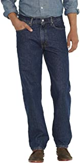 Levi's 00550 Men's 550 Relaxed Fit Jeans, Dark Sw - 31L x 34W