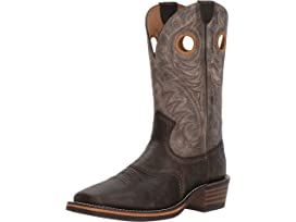 Men's Ariat Branding Pen Square Toe Cowboy Boot, Size: 10 2E, Tobacco Toffee Leather