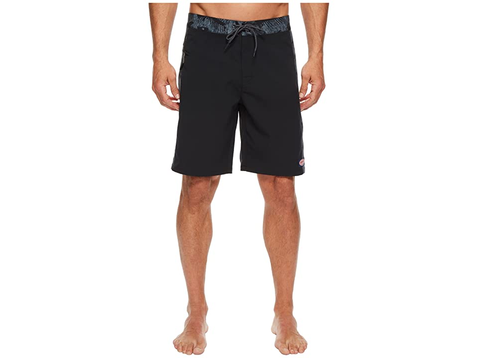 Vineyard Vines Pieced Fishbones Boardshorts (Charcoal) Men