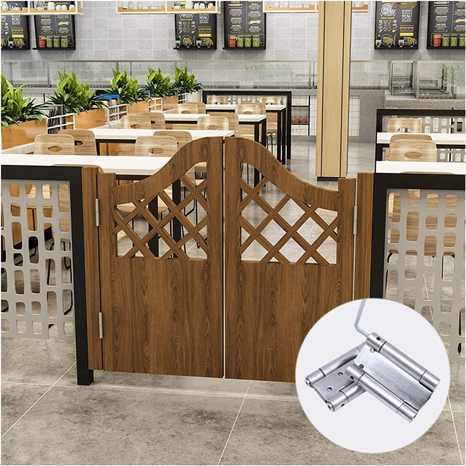 Saloon Cafe Limited time for free shipping Doors Solid Wood Cowboy Two-way Open Fenc Inventory cleanup selling sale Fence Gate