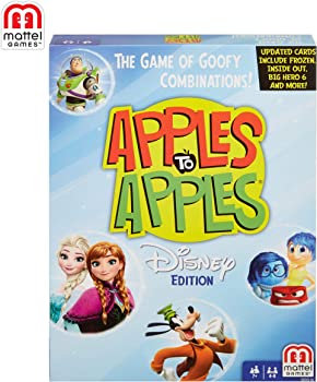 Mattel Games Apples to Apples Disney Edition Card Game