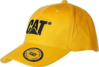 قبعة مرنة للرجال بطبعة العلامة التجارية من كاتربيلار