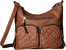 Quilted Mixed Stitched Hobo