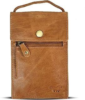 safe keepers protect your valuables Safekeepers Protect Your valuables Brustbeutel Brusttasche Umhängetasche Leder