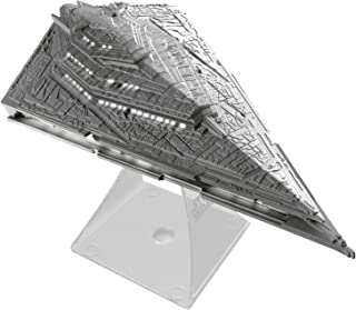 Star Wars Li-B33.FMv7 Bluetooth Speaker - The Force Awakens First Order Star Destroyer Villain Flagship Lights Up When in Use