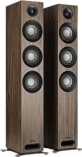 Jamo Studio Series S809 Floorstanding Speaker Pair (Walnut)