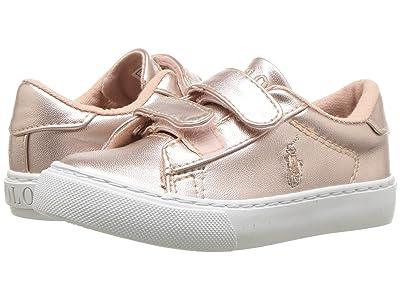 Polo Ralph Lauren Kids Easten EZ (Toddler) (Pink Metallic) Girl
