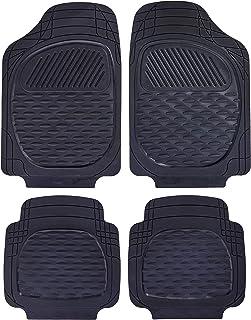Carfit 4562051 Guardian Rubber Car Floor Mat 4 Piece Set, Black, Set of 2