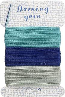 Clover ダーニング糸 ブルー系 各約16m巻 CL57-214